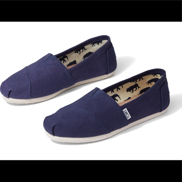 Toms Shoes | Navy Blue Womens Size 85